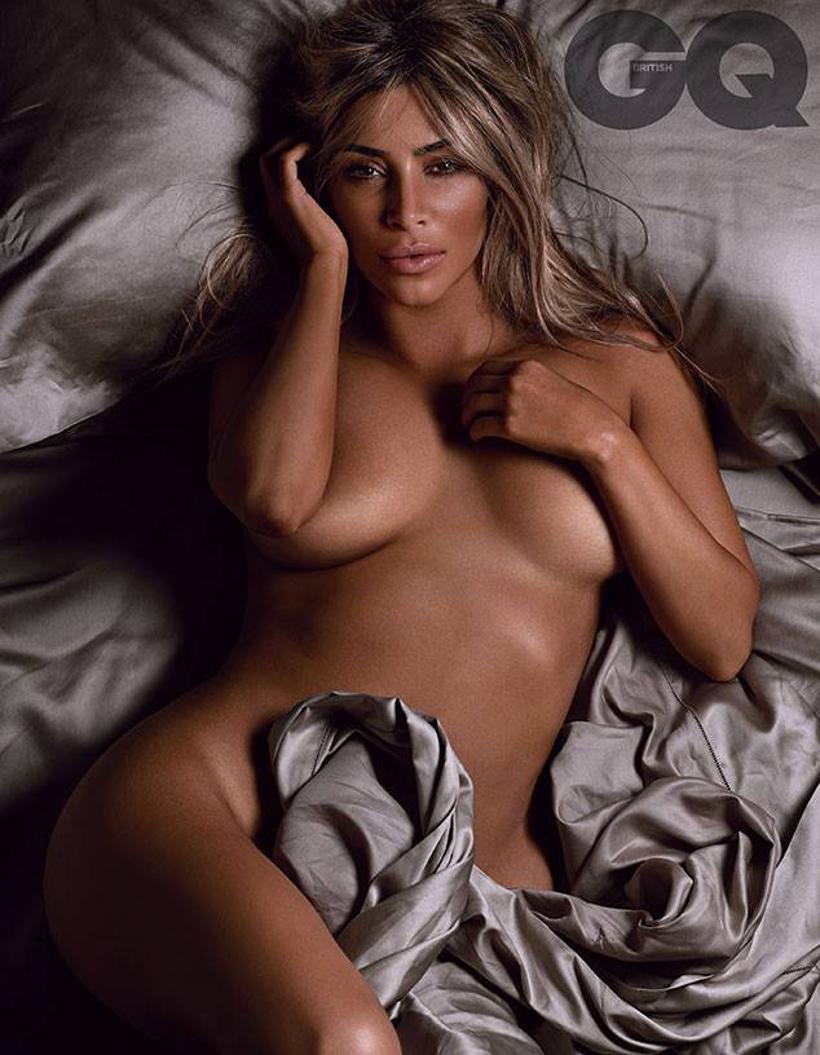 Kim Kardashian Nude Fashion Picture - AngryGIF
