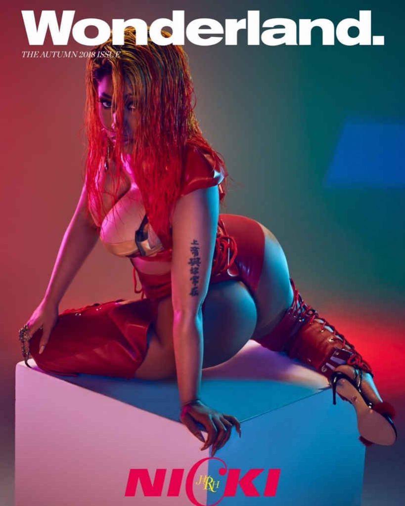 Nicki Minaj Instagram page sexy butt - AngryGIF