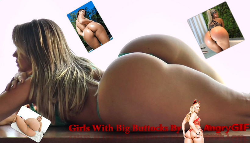 Girls Show Big Hot White Buttocks